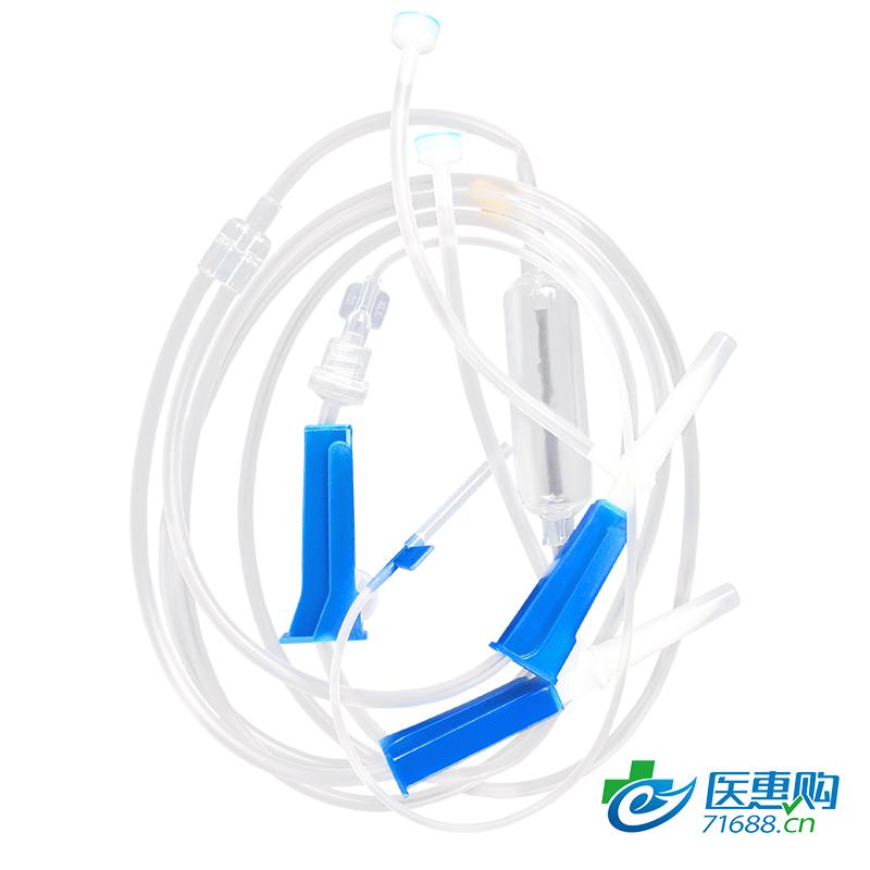 康利来 一次性使用输液器 带针 双插输液器 6#