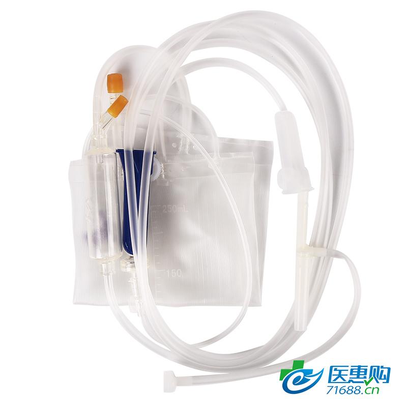 【直供医疗机构】事丰 一次性使用袋式输液器 含DEHP DS1-1-250G(单插单袋)
