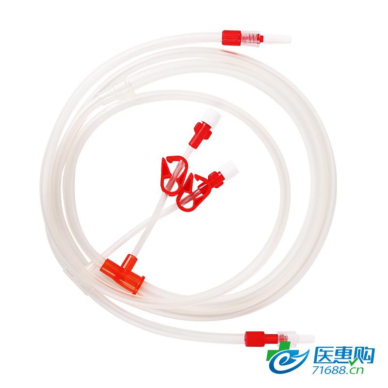 【直供医疗机构】艾贝尔 百合 一次性无菌血液回路 补液管